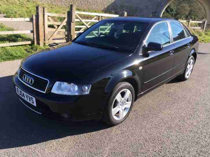 2004 (04) AUDI A4 1.8 FSI 4DR SALOON IN METALLIC BLACK