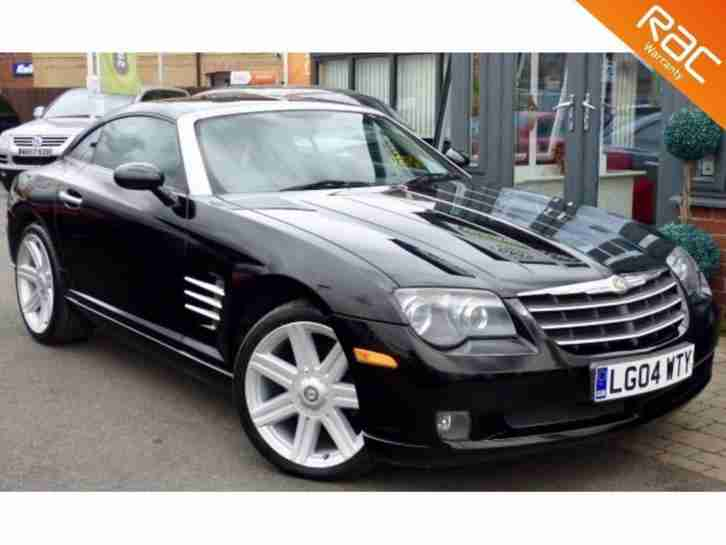 2004 04 CHRYSLER CROSSFIRE 3.2 V6 2D AUTO 215 BHP! A C + HEATED SEATS + CRUISE!