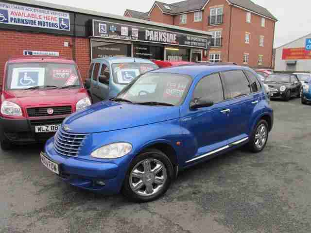 chrysler 2004 04 pt cruiser 2 2 crd limited car for sale. Black Bedroom Furniture Sets. Home Design Ideas