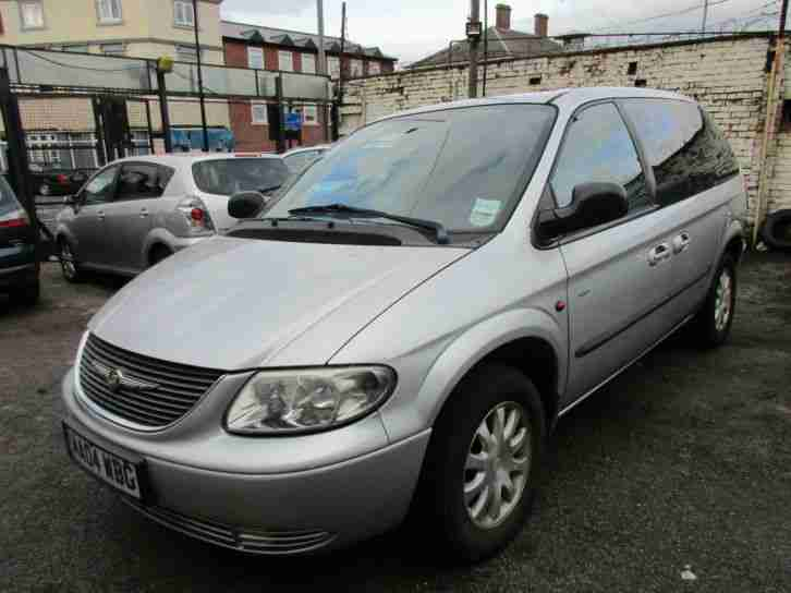 2004 04 CHRYSLER VOYAGER 2.5CRD TOURING ~ LOW MILES ~ NEEDS ATTENTION