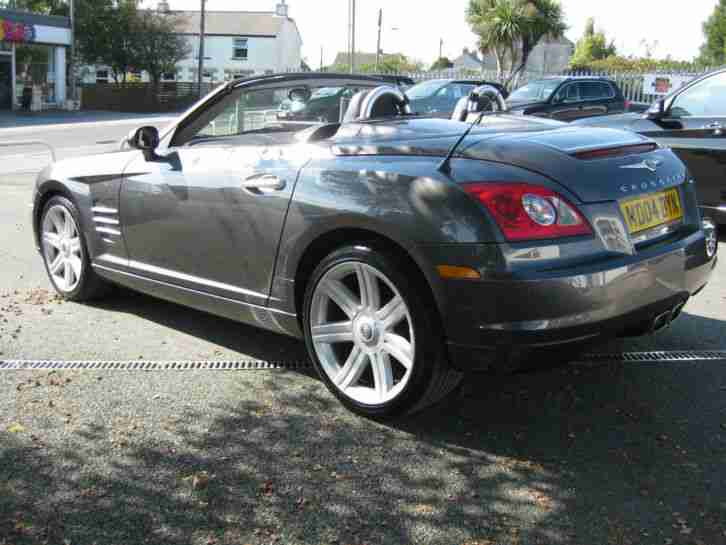 chrysler 2004 04 crossfire 3 2 v6 auto convertible with leather heated. Black Bedroom Furniture Sets. Home Design Ideas