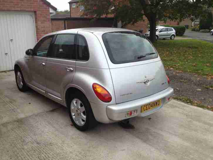 2004 04 Chrysler PT Cruiser Estate Touring Edition 2.0 Petrol Manual in Silver