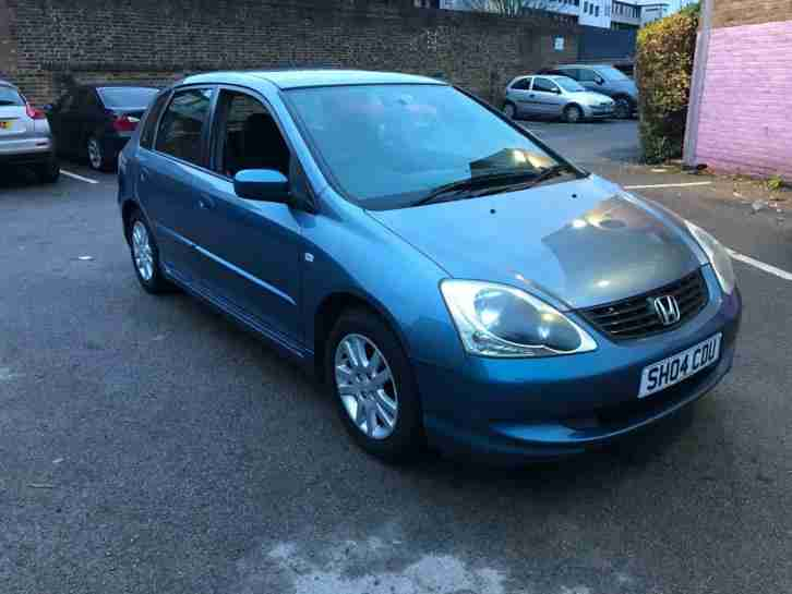 2004 04 Honda Civic 1.4i SE 5 DOORS YEARS MOT