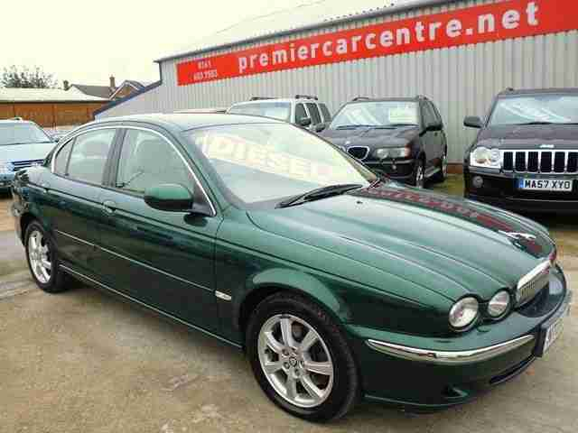 jaguar 2004 04 x type 2 0 se 4d 130 bhp diesel car for sale. Black Bedroom Furniture Sets. Home Design Ideas