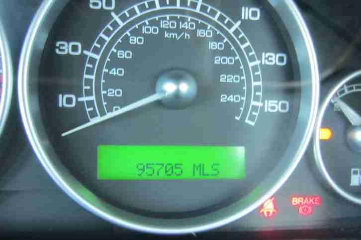 Jaguar (04) X TYPE 2 0 V6 SALOON, AUTO AUTOMATIC, GREEN, 93'000 MILES