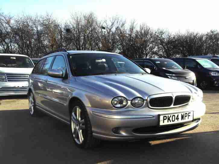 jaguar 2004 04 x type 2 5 v6 awd 4wd automatic sport 5 door estate. Black Bedroom Furniture Sets. Home Design Ideas