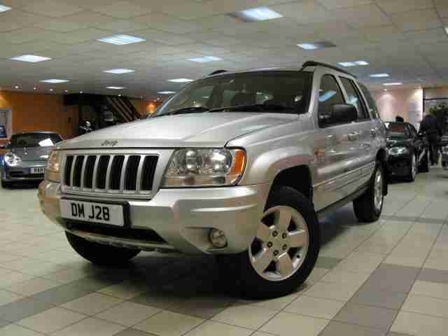 2004 04 GRAND CHEROKEE 2.7 LIMITED CRD