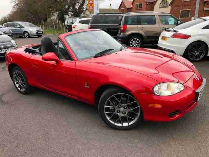 2004 04 MAZDA MX 5 1.8 EUPHONIC LIMITED EDITION 2DR