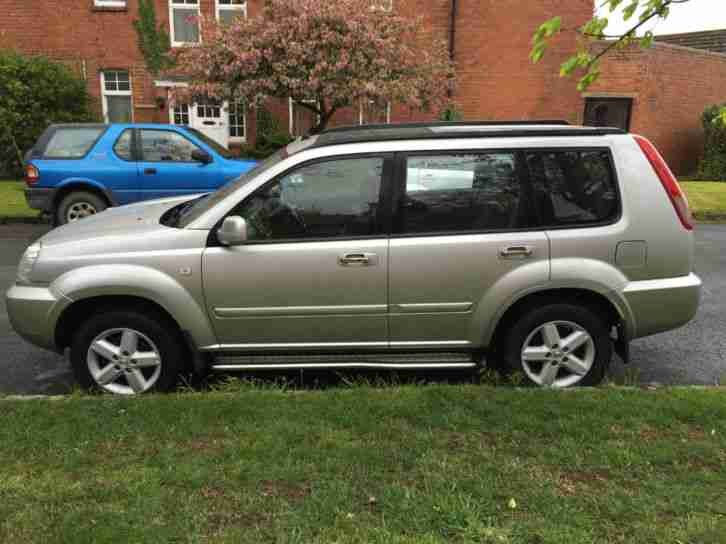 2004-04 Nissan X-Trail 2.2dCi SVE DIESEL MANUAL