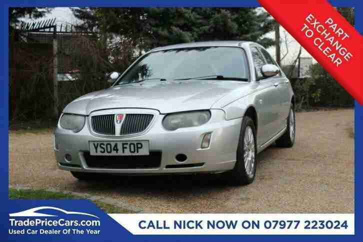 2004 04 ROVER 75 2.0 CONNOISSEUR SE CDTI 4D 129 BHP DIESEL CHEAP CAR!