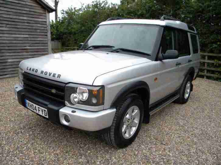 2004 04 Reg Land Rover Discovery Pursuit 2 5 Td5 Diesel
