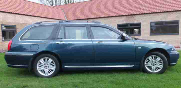 2004/04 Rover 75 Tourer/Estate 2.0 CDT Club SE 49K. FSH. Full MOT. Cruise contr.