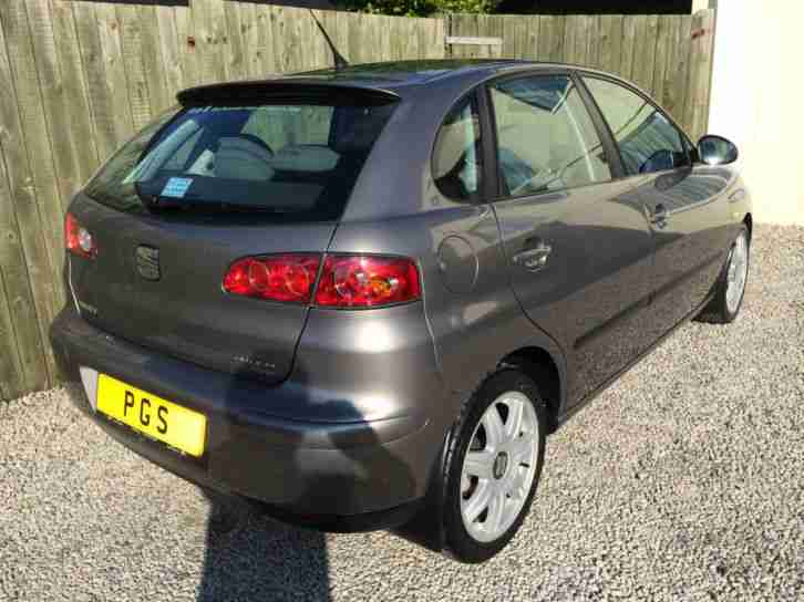 "2004/04 SEAT IBIZA (VW POLO) 5DR 1.9PD TDI SE 100BHP ""ONLY 37K"" RARE EXAMPLE"