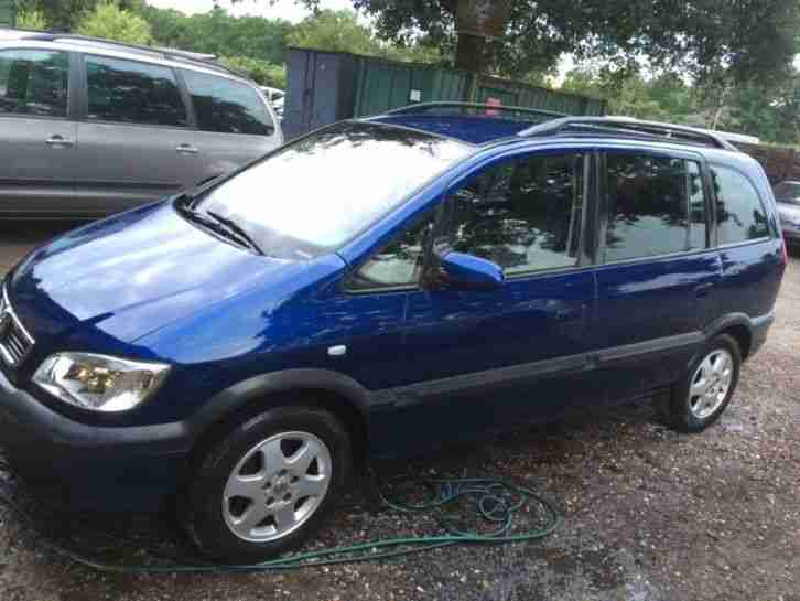 2004 1 6 petrol vauxhall zafira for spares or repairs car for sale. Black Bedroom Furniture Sets. Home Design Ideas