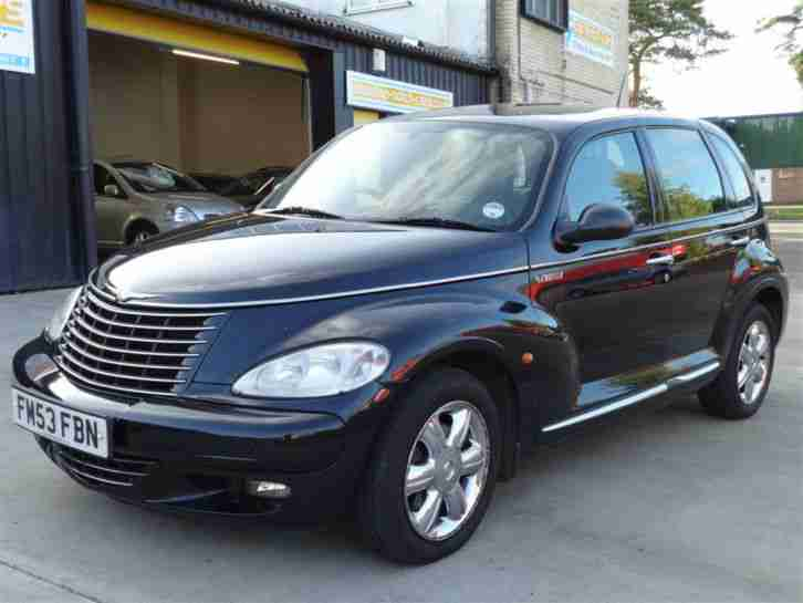 chrysler 2004 53 pt cruiser 2 2 crd limited diesel car. Black Bedroom Furniture Sets. Home Design Ideas