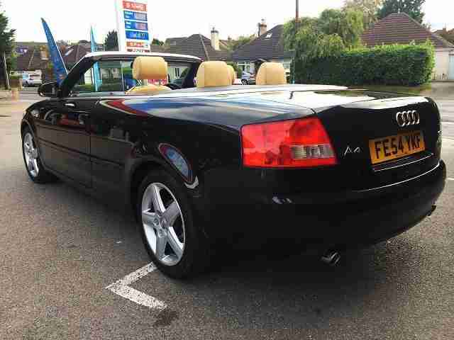 2004/54 AUDI A4 1.8 T SPORT CABRIOLET