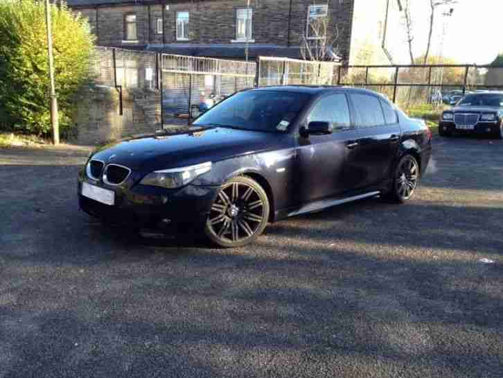 bmw 2004 54 535d m sport twin turbo full history carbon black. Black Bedroom Furniture Sets. Home Design Ideas