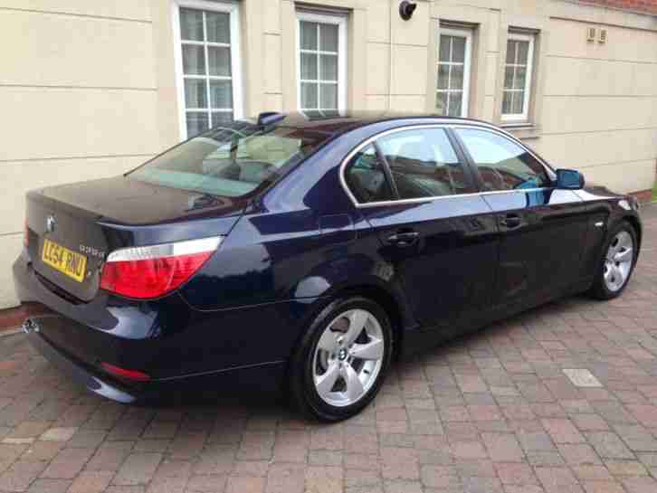 bmw 2004 54 535d se auto 5 door saloon sat nav full history 1. Black Bedroom Furniture Sets. Home Design Ideas