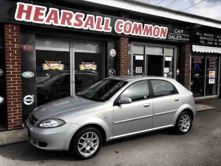2004 54 DAEWOO LACETTI 1.6 SX 5D 108 BHP PART EXCHANGE TO CLEAR TAKEN IN AS P X