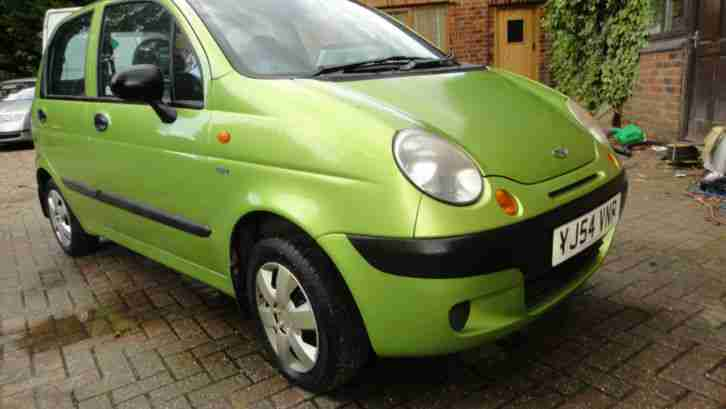 2004 54 MATIZ 0.8 SE 5DR HATCH GREEN