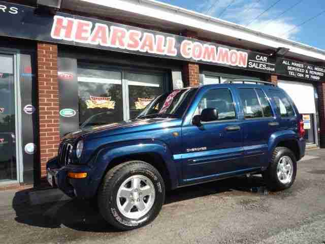 2004 54 CHEROKEE 2.8 LIMITED CRD 5D AUTO