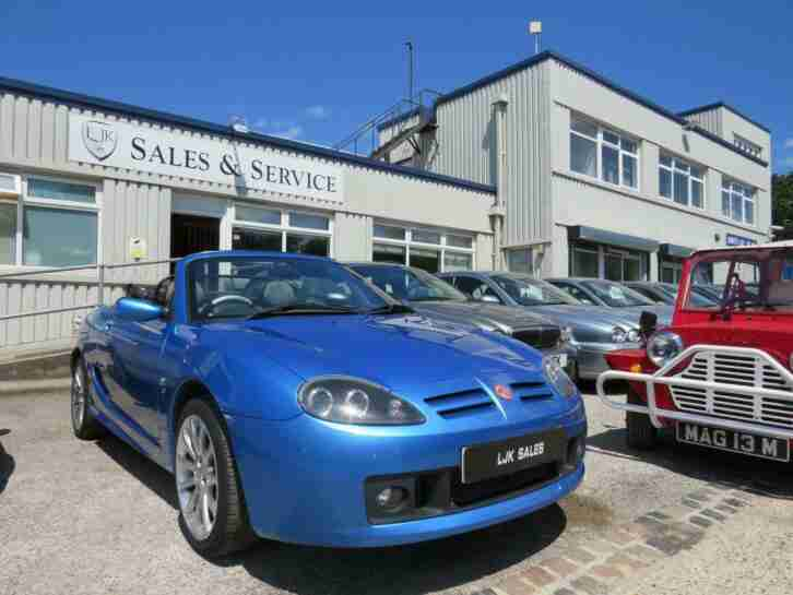 2004 54 TF SPARK 115 1.6 CONVERTIBLE BLUE