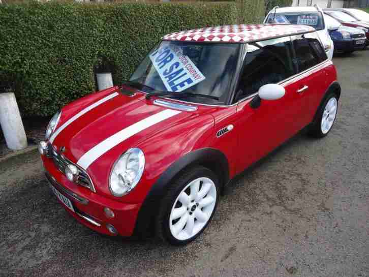 Mini 2004 54 One 16 Pepper Pack Chili Red Cooper S Alloys Car For Sale
