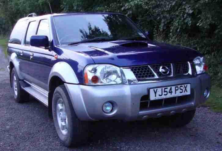 Nissan 2004 54 NAVARA 2.5 4WD D22 DOUBLECAB PICKUP, 71k ...
