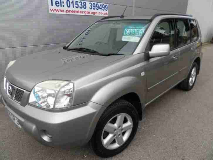 2004 54 X TRAIL 2.2 SVE DCI LEATHER,
