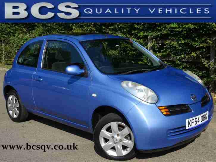 nissan 2004 54 micra 1 2 16v se in light blue metallic car for sale. Black Bedroom Furniture Sets. Home Design Ideas