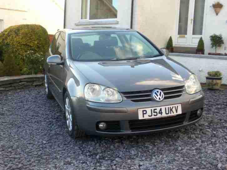 Volkswagen 2004 54 Plate Golf Gt Tdi 140bhp Car For Sale