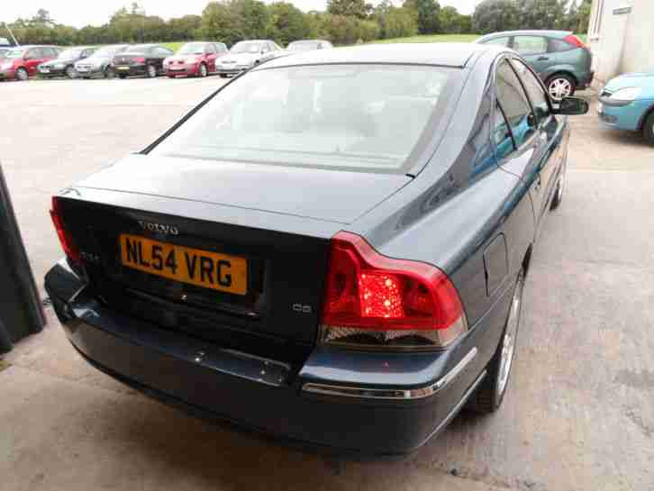 2004 54 REG VOLVO S60 TURBO DIESEL D5 SE AUTOMATIC IN METALLIC BLUE