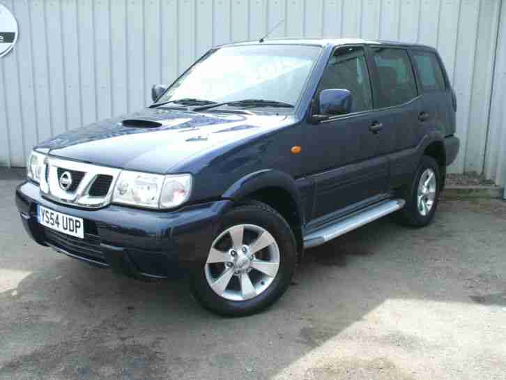 nissan 2004 54 reg terrano 2 7 tdi se 5 door blue car for. Black Bedroom Furniture Sets. Home Design Ideas