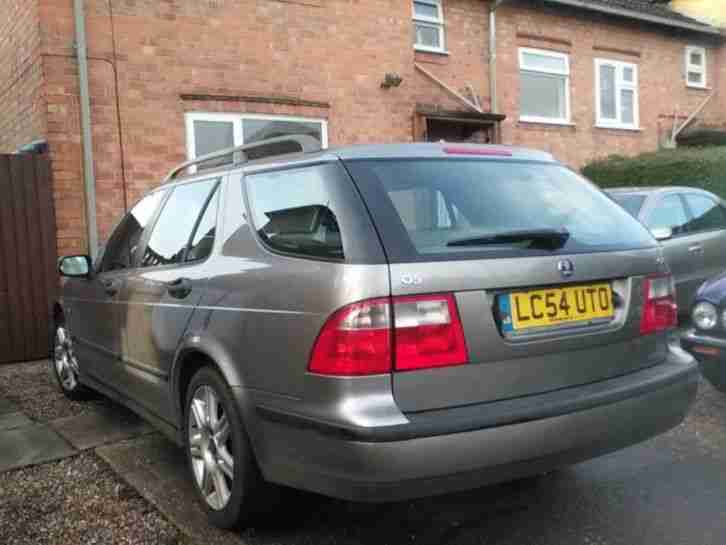 2004 /54 SAAB 9-5 VECTOR 2.0 AUTO ESTATE IN GREY METALLIC