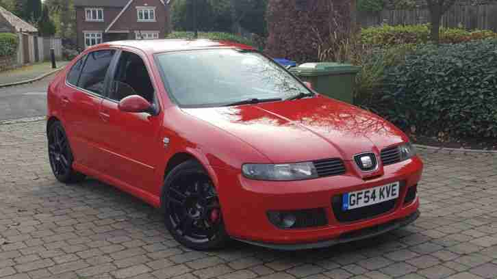 2004 (54) SEAT LEON CUPRA R 225 BAM COBRA EXHAUST POLY BUSHED JABBA INDUCTION PX