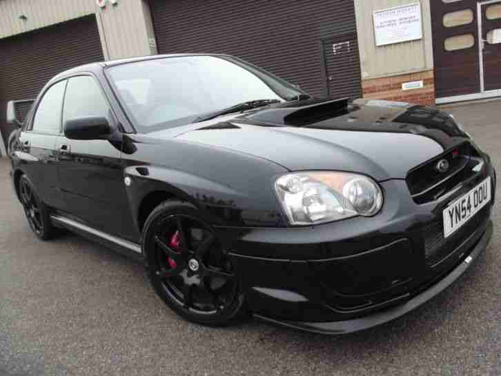 2004 54 SUBARU IMPREZA WRX 4X4 BLACK NEW TYRES OUTSTANDING CONDITION