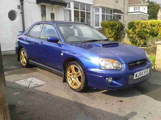 subaru 2003 impreza wrx turbo blue car for sale. Black Bedroom Furniture Sets. Home Design Ideas