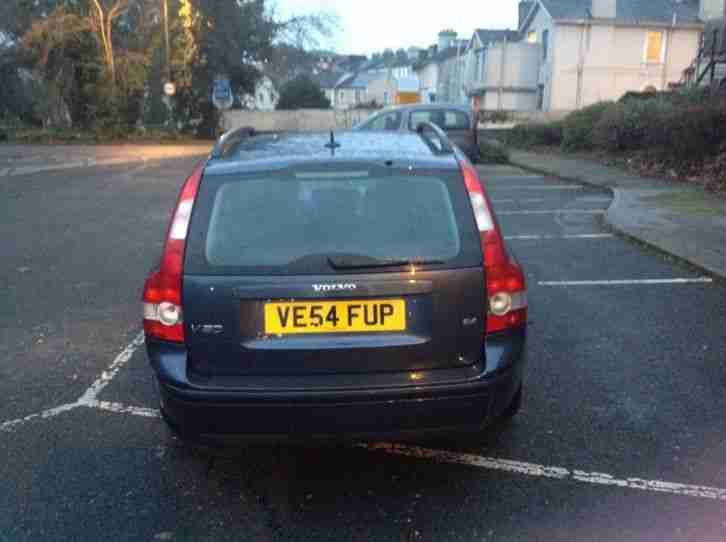 2004 54 reg VOLVO V50 S 2.4 ESTATE 5 SPEED MANUAL PETROL BLUE