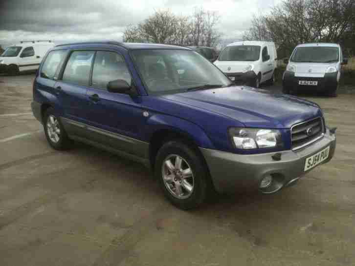 2004 54 forester X All 2.0 petrol AwD