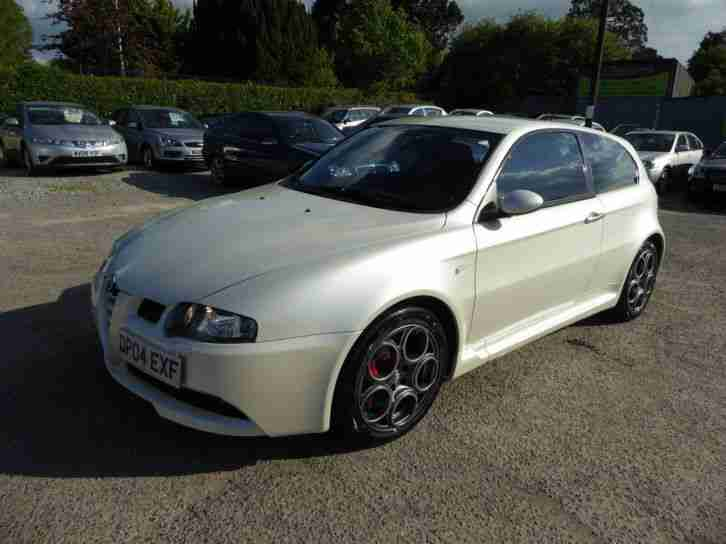 2004 ALFA ROMEO 147 GTA 3.2 V6 PETROL MANUAL IN RARE WHITE PEARL LHD LOW MILES