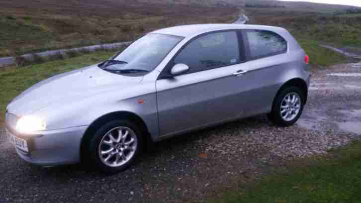 2004 ALFA ROMEO 147 T SPARK LUSSO SILVER. Good condition, 12 months MOT