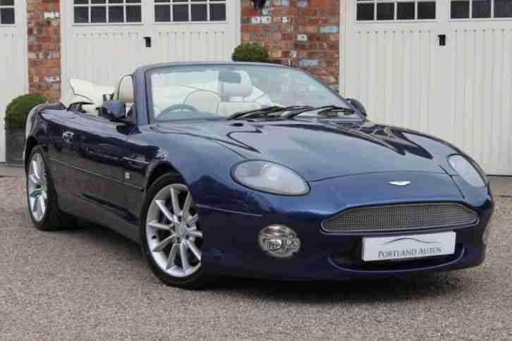 Aston Martin 2004 Db7 Vantage Volante 6 0 V12 Impeccable