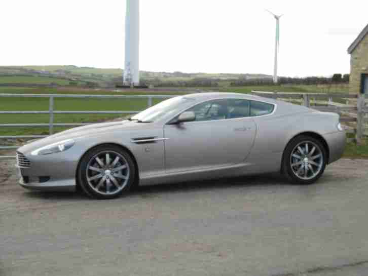 2004 DB9 6.0 V12 AUTO, WRAPPED