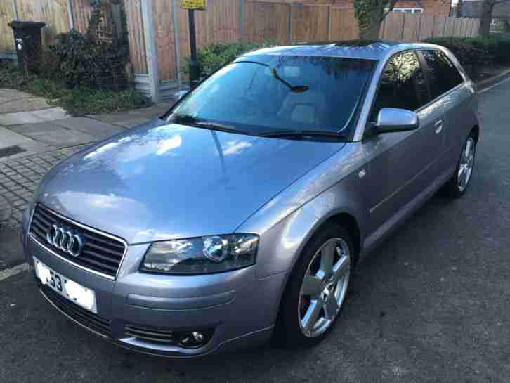 2004 AUDI A3 SPORT - MANUAL - 3 DOOR - 1.6 PETROL