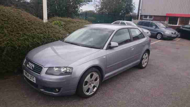 2004 AUDI A3 SPORT TDI SILVER, 154000 MILES, NON RUNNER, INJECTOR PROBLEMS!!