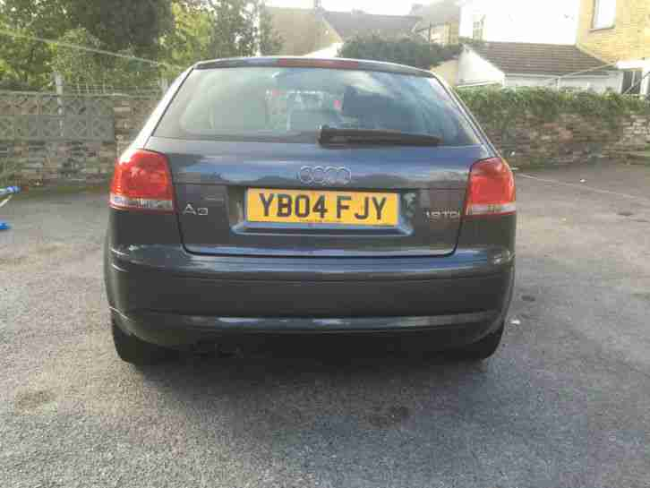 2004 AUDI A3 TDI GREY ONE OWNER LOW MILEAGE