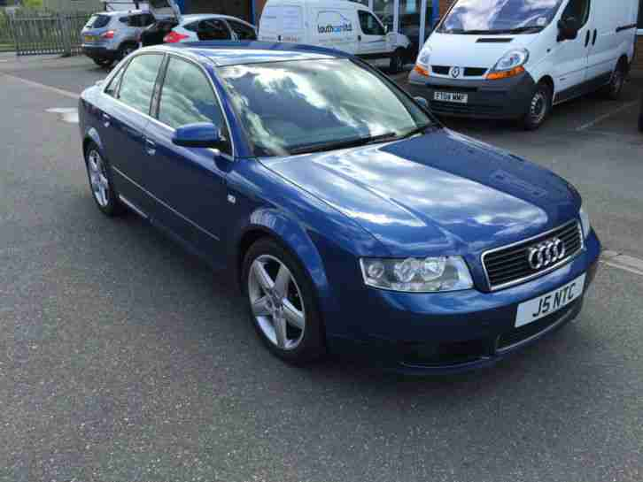 audi 2004 a4 tdi sport auto 2 5 v6 diesel 6 speed auto blue car for sale. Black Bedroom Furniture Sets. Home Design Ideas