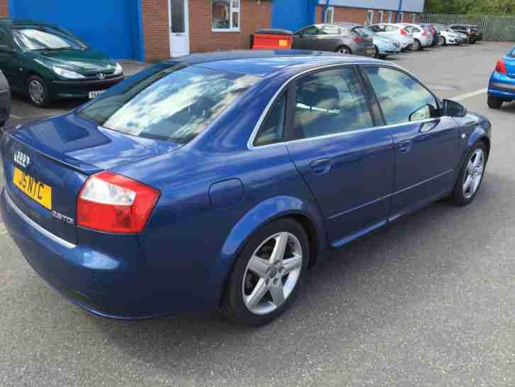 audi 2004 a4 tdi sport auto 2 5 v6 diesel 6 speed auto blue car for sale. Black Bedroom Furniture Sets. Home Design Ideas