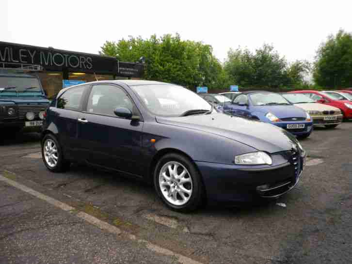 2004 Alfa Romeo 147 1.9JTD 16v Lusso EXCELLENT VALUE DIESEL