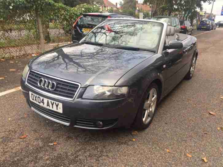 2004 A4 Cabriolet 1.8T CVT Sport Great
